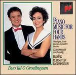 Dvorák, Rubinstein, Rachmaninov: Piano Music for 4 Hands