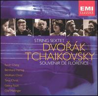 Dvorák: String Sextet; Tchaikovsky: Souvenir de Florence - Bernhard Hartog (violin); Georg Faust (cello); Sarah Chang (violin); Tanja Christ (viola); Wolfram Christ (viola)