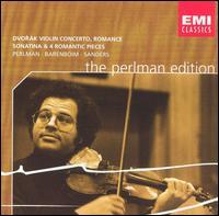 Dvor�k: Violin Concerto; Romance; Sonatina; 4 Romantic Pieces - Itzhak Perlman (violin); Samuel Sanders (piano); London Philharmonic Orchestra; Daniel Barenboim (conductor)