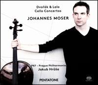 Dvorak & Lalo: Cello Concertos - Johannes Moser (cello); Prague Philharmonia; Jakub Hrusa (conductor)