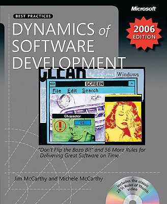 Dynamics of Software Development - McCarthy, Jim, and McCarthy, Michelle
