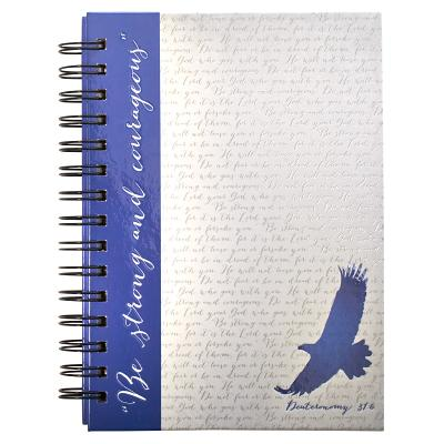 Eagle - Wirebound Journal Blue Eagle - Christian Art Gifts (Creator)
