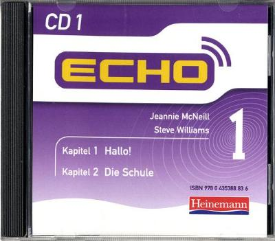 Echo 1 CD - Jeannie McNeill, and Steve Williams