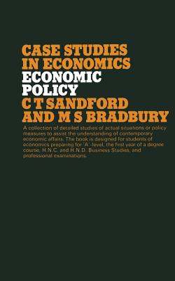 Economic Policy - Sandford, Cedric, and Bradbury, M.S.