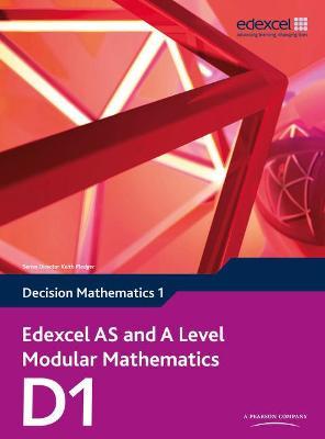 Edexcel AS and A Level Modular Mathematics Decision Mathematics 1 D1 - Jameson, Susie