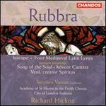 Edmund Rubbra: Inscape; Four Mediaeval Latin Lyrics; Song of the Soul; Advent Cantata; Veni, creator Spiritus