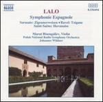 Edouard Lalo: Symphonie Espagnole; Pablo Sarasate: Zigeunerweisen; Ravel: Tzigane; Camille Saint-Saëns: Havanaise
