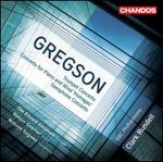 "Edward Gregson: Trumpet Concerto; Concerto for Piano and Wind ""Homages; Saxophone Concerto"