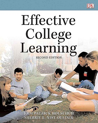 Effective College Learning - Holschuh, Jodi Patrick
