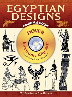 Egyptian Designs CD-ROM and Book - Dover Publications Inc