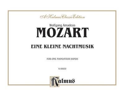 Eine Kleine Nachtmusik (K. 525): Comb Bound Book - Mozart, Wolfgang (Composer)