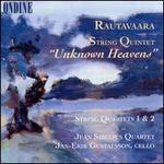 """Einojuhani Rautavaara: String Quintet """"Unknown Heavens""""; String Quartets 1 & 2"""