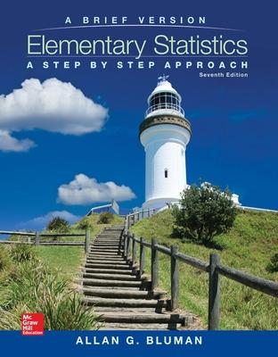 Elementary Statistics: A Brief Version with Formula Card - Bluman, Allan G.