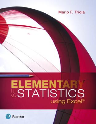 Elementary statistics using excel book by mario f triola 8 elementary statistics using excel triola mario f fandeluxe Gallery