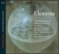 Elemente - Christine Schornsheim (piano); Concertino Amarilli; Ensemble la Fenice; Ensemble Unicorn;...