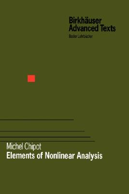 Elements of Nonlinear Analysis - Chipot, Michel