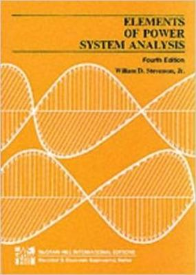 Elements of power system analysis book by william d stevenson 4 elements of power system analysis stevenson william jr fandeluxe Image collections