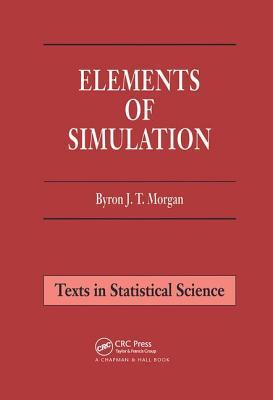 Elements of Simulation - Morgan, Byron J T