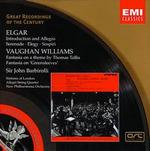 Elgar: Introduction and Allegro; Serenade; Elegy; Sospiri; Vaughan Williams: Fantasias