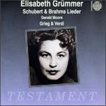 Elisabeth Grümmer-Schubert, Brahms, Grieg & Verdi