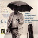"""Elliott Carter: Symphonia """"Sum fluxae pretium spei""""; Clarinet Concerto"""