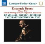 Emanuele Buono: Winner 2013 Michele Pittaluga Guitar Competition, Alessandria