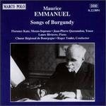 Emmanuel: Songs of Burgundy