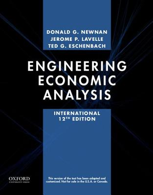 Engineering Economic Analysis - Newnan, Donald, and Lavelle, Jerome P., and Eschenbach, Ted