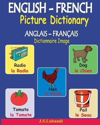 English-French Picture Dictionary (Anglais