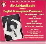 English Gramophone Premieres