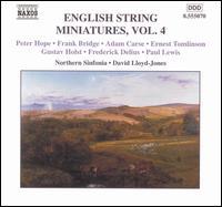 English String Miniatures, Vol. 4 - Royal Northern Sinfonia; David Lloyd-Jones (conductor)