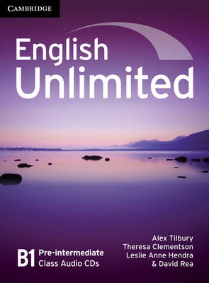 English Unlimited Pre-intermediate Class Audio CDs (3) - Tilbury, Alex, and Clementson, Theresa, and Hendra, Leslie Anne