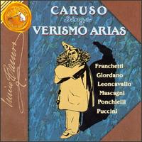 Enrico Caruso Sings Verismo Arias - A. Regis-Rossini (harp); Antonio Scotti (baritone); Enrico Caruso (tenor); Francis J. Lapitino (harp);...