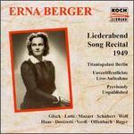 Erna Berger Sings Gluck, Lotti, Mozart...
