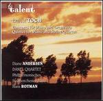 Ernest Toch: Concerto for Piano & Orchestra; Quintet for Piano and String Quartet