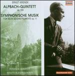 Ernst Krenek: Alpbach-Quintet; Symphonische Musik