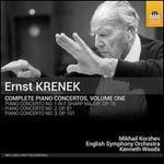 Ernst Krenek: Complete Piano Concertos, Vol. 1