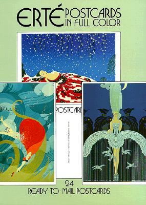 Erte Postcards in Full Color - Erte