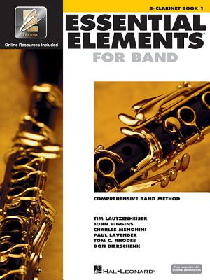 Essential Elements for Band - BB Clarinet Book 1 with Eei - Hal Leonard Corp (Creator)