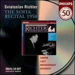 Essential Richter: The Sofia Recital, 1958 - Sviatoslav Richter (piano)