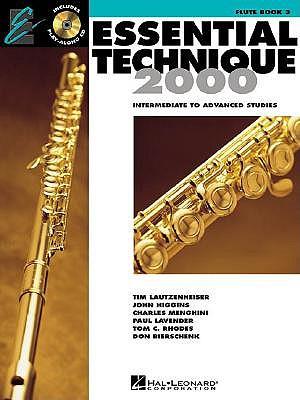Essential Technique 2000, Flute: Intermediate to Advanced Studies - Lautzenheiser, Tim, and Higgins, John, and Menghini, Charlie