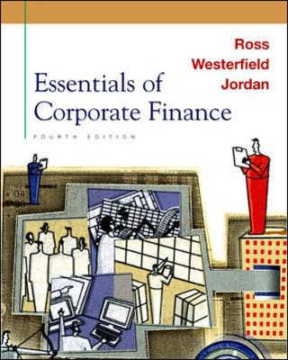 Essentials of Corporate Finance + Self Study CD-ROM + Powerweb - Ross, Stephen A, Professor