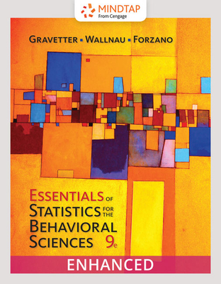 Essentials of Statistics for the Behavioral Sciences - Gravetter, Frederick J, and Wallnau, Larry B, and Forzano, Lori-Ann B