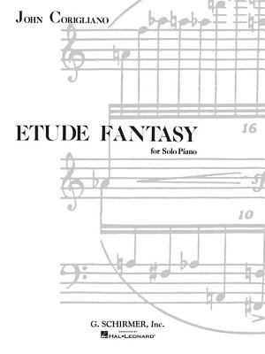 Etude Fantasy: Piano Solo - Corigliano, John (Composer)