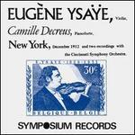 Eugène Ysaÿe, Violin