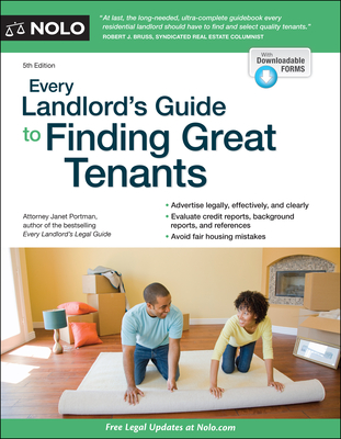 Every Landlord's Guide to Finding Great Tenants - Portman, Janet