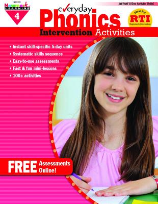 Everyday Phonics Intervention Activities 4 - Clark, Donna Schmeltekopf
