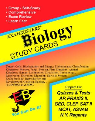 Exambusters Biology Study Cards: A Whole Course in a Box