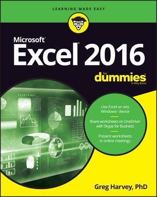Excel 2016 for Dummies - Harvey, Greg