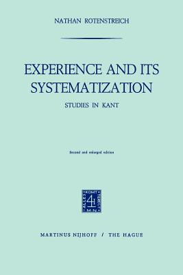 Experience and Its Systematization - Rotenstreich, Nathan